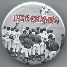 1976 Cincinnati Reds Magnet - World Series Champions - Johnny Bench Photo