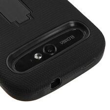 Boost Mobile ZTE Warp Sync N9515 IMPACT Hard Rubber Case Cover Kicksta