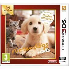 Jeu 3DS NINTENDO'GS +CATS GOLDEN RETRIEVER