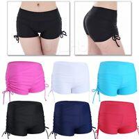 Women Swim Shorts Bikini Swimwear Shorts Brief Bottoms Beach Yoga Gyms Sportwear