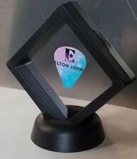 ELTON JOHN guitar pick display FRAMED rock rocketman gift present novelty NEW