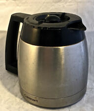 CUISINART DGB-600BC AUTOMATIC GRIND & BREW 10 CUP THERMAL CARAFE