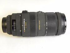Sigma DG 120-400 mm f/4.5-5.6 OS HSM DG objective, intérieur lentilles Salies