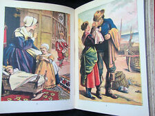 Very Rare 1800s Warnes Mounted Picture Toy Book Illustrated Book Gulivers Travel