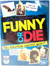 Funny or Die Caption and Photo Matching Card Game for Party and Family New
