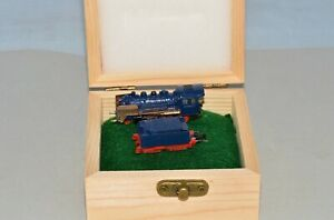 Z Scale Marklin 8803 BR 24 DB 2-6-0 Steam Locomotive & Tender Custom Blue & Gold