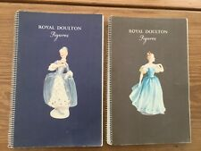2 Royal Doulton Figurine ware books No 6 & 7 with price lists in back pocket