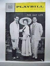 THE GAY LIFE Playbill BARBARA COOK / WALTER CHIARI / JULES MUNSHIN NYC 1962