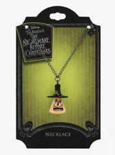 Disney Nightmare Before Christmas Halloween Town Mayor Spinner Pendant Necklace