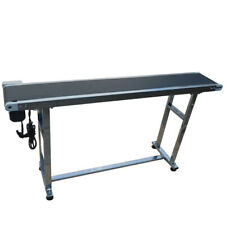 "110V,60W 59""*7.8"" Conveyor Belt System,No Guardrail for Multiple Occasions"
