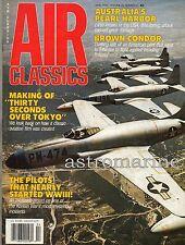 Air Attack BROOME Australia's Pearl Harbour ... Air Classics Magazine March 1990