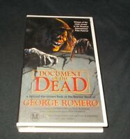 DOCUMENT OF THE DEAD VHS PAL GEORGE ROMERO