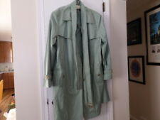 Gallery Women's Trench Coat Jacket Plus Size  3X Mint Green - Beautiful