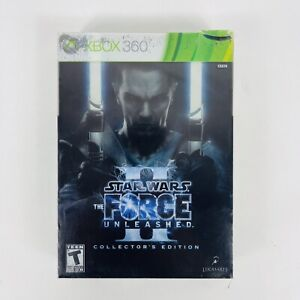Star Wars: The Force Unleashed II Collector's Edition (Xbox 360) *Rare & Sealed*
