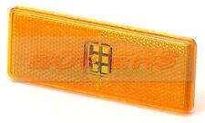 AMBRA Arancione LED Luce di Ingombro Luce Mercedes Actros Axor Atego come Rubbolite