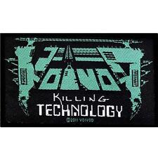 OFFICIAL LICENSED - VOIVOD - KILLING TECHNOLOGY SEW-ON PATCH THRASH METAL