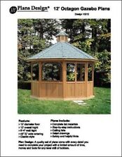 How To Build 12' Octagon Screen Gazebo Project, Material List Include #10112