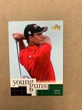 New listing 2001 Upper Deck Golf Cards #70 Adam Scott Rookie RC Young Guns - Free shipping