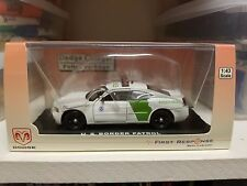 1:43 First Response Replicas FRR Border Patrol Dodge Charger