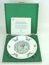 Royal Doulton Christmas 1977 Plate First In Series With Original Box