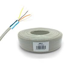 Telefonkabel 2 x 2 x 0,6 mm 50 m 4 Adern Telefon Kabel Verlegekabel Leitung 2x2