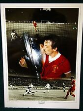 Alan Kennedy signed Liverpool Large Photograph