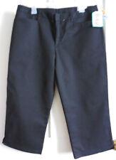 """Becky Thatcher Women's /Girl's Capri Uniform - Size 15 Junior (Waist 35"""") Black"""