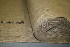 18oz Natural Hessian Fabric 1.8m wide x 5 metre length