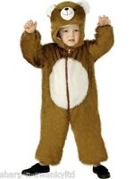 Girls Boys Kids Brown Bear Animal Book Day Week Fancy Dress Up Costume Outfit