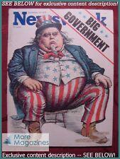 NEWSWEEK December 15 1975 Dec 12/15/75 BIG GOVERNMENT YITZHAK RABIN ISRAEL +++