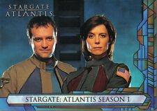 STARGATE ATLANTIS SEASON 1 PROMOTIONAL CARD UK