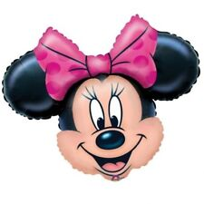 Minnie Mouse SuperShape Foil Balloon Character Birthday Party Decoration 71x58cm