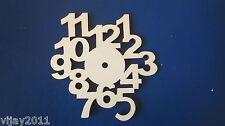 3 x Plain DIAMETRO 15 cm 4 mm di spessore Piastra in Legno Bambini Orologio a fare arte decoupage