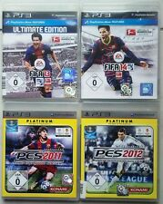 FIFA 14 2014 + FIFA 13 2013 CALCIO + PES 2012 + PES 2011 ps3 raccolta giochi