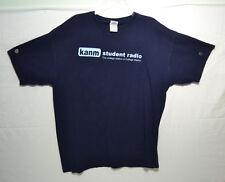 KANM Student Radio T-Shirt XL College Radio TAMU Texas A&M University 2000s