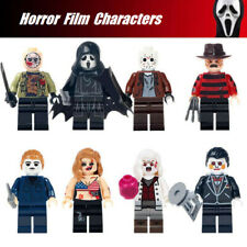 2019 Halloween Horror Film Characters Mini Figures Building toys Fit Lego Toys