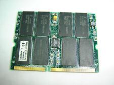 RARE VINTAGE SMS 128MB 16x8 144PIN SODIMM LAPTOP MEMORY RAM MODULE