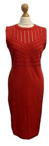 ESCADA New Ladies Red Stretch Dress