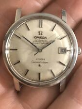 """Omega vintage SS Constellation Double Signed """"Meister""""Mint Condition..."""