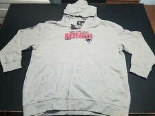 Women's New England Patriots Jersey Style Zipup Jacket Size 2XL