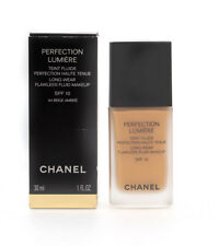 Chanel Foundation Perfection Lumiere 44 Beige Amber Damaged Box
