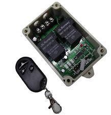 12V Garagentor Rolltor Motor Antrieb Steuerung Funk Sender Empfänger +Handsender