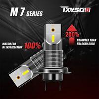 2* H7/110W Car 5050 CSP LED Headlight Canbus Error-Free Lamp 20000LM/6000K Kit