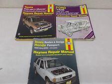 % 3 Haynes Repair Manual Isuzu Honda 47017 Ford Vans 344 Toyota 92075