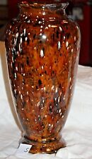 "15"" Large Flower Vase Brown, Multi Color High Gloss (s)"