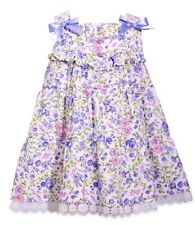NWT BONNIE JEAN GIRLS FLORAL TIERED DRESS & BLOOMERS SIZE 24 MONTHS MSRP $50.00