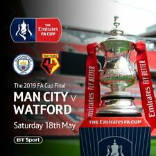 DVD FA Cup Final 2019 English Cup Manchester City - Watford 6-0 Full Match