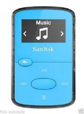 SanDisk Agrafe confiture 8GB MP3 Lecteur Bleu Digital LCD écran MINICLIP