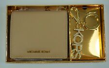 Michael Kors Neuf JET ENSEMBLE VOYAGE SAFFIANO Porte-monnaie en cuir