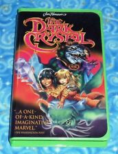 The Dark Crystal VHS Video Tape with Clamshell Case Excellent Tested Condition
